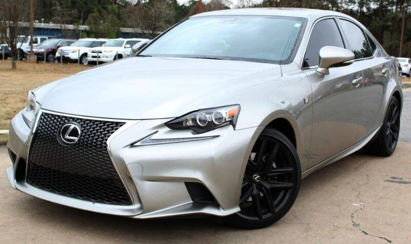 2015 Lexus IS 250 ** F SPORT PACKAGE ** - w/ NAVIGATION & RED LEATHER SEATS Lilburn GA