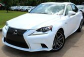 2015 Lexus IS 250 ** F SPORT PACKAGE ** - w/ NAVIGATION & RED LEATHER SEATS