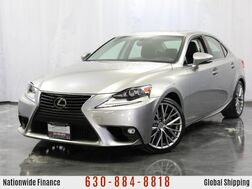 2015_Lexus_IS 250_2.5L V6 Engine AWD w/ Sunroof, Heated Leather Seats, Bluetooth, USB & AUX Input, Rearview Camera, Push Start Button_ Addison IL