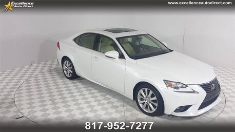 2015_Lexus_IS_250 /ACCY PKG/CAM/SUNROOF/PADDLE/USB/P2_ Euless TX