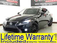 Lexus IS 250 AWD NAVIGATION SUNROOF BLIND SPOT ASSIST REAR CAMERA HEATED COOLED LEATHER 2015