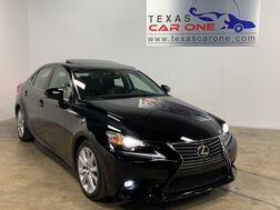 2015_Lexus_IS 250_BLIND SPOT MONITORING SUNROOF LEATHER SEATS SMART ACCESS KEYLESS START_ Addison TX