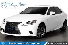 2015 Lexus IS 250 Crafted Line F-Sport Navigation Heated Seats BackUp Cam