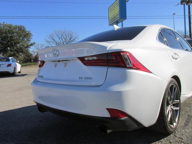 2015 Lexus IS 250 Crafted Line Dallas TX