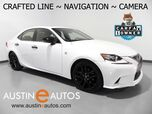 2015 Lexus IS 250 Crafted Line *NAVIGATION, BACKUP-CAMERA, BLIND SPOT ALERT, CLIMATE SEATS, MOONROOF, BLUETOOTH PHONE & AUDIO