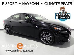 2015_Lexus_IS 250_*F SPORT, NAVIGATION, BLIND SPOT ALERT, BACKUP-CAMERA, CLIMATE SEATS, MOONROOF, BLUETOOTH_ Round Rock TX