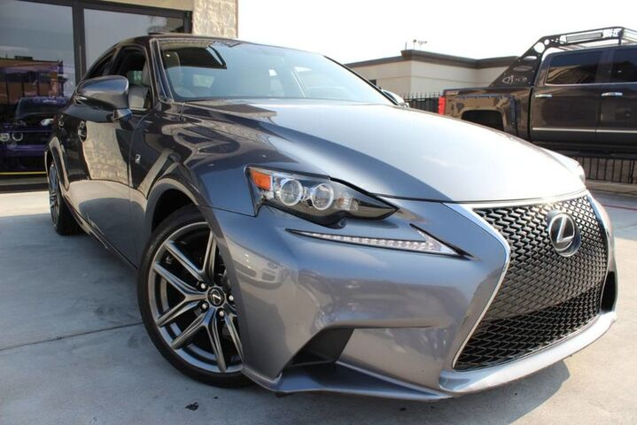 2015 Lexus IS 250 F-Sport IS250 F-SPORT 1 OWNER CLEAN CARFAX Houston TX