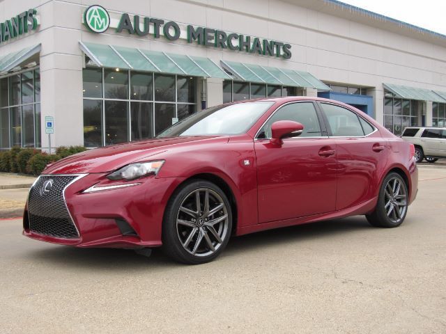 2015 Lexus IS 250 F Sport NAV, BLIND SPOT, SUNROOF, HTD/COOLED STS, BLUETOOTH, BACKUP CAM, PUSH BUTTON START Plano TX