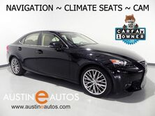 Lexus IS 250 *NAVIGATION, BLIND SPOT ALERT, BACKUP-CAM, CLIMATE SEATS, MOONROOF, BLUETOOTH AUDIO 2015