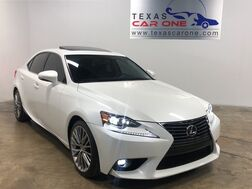 2015_Lexus_IS 250_PREMIUM PACKAGE BLIND SPOT MONITORING NAVIGATION SUNROOF LEATHER SEATS_ Addison TX