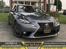 2015_Lexus_IS 250_Prem. Pkg| AWD| Htd&Cooled Lthr Seats| Backup|Bluetooth|Paddle S_ London ON