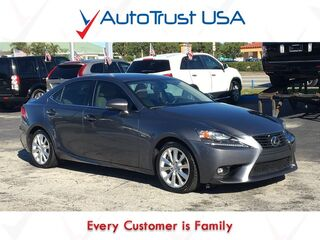 Lexus IS 250 RWD 1 OWNER LEATHER SUNROOF BACKUP CAM 2015