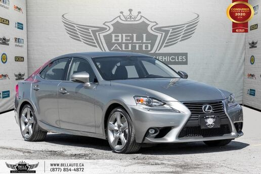 2015 Lexus IS 350 AWD, NO ACCIDENT, BACK-UP CAM, SUNROOF, SENSORS, COOLED SEATS Toronto ON