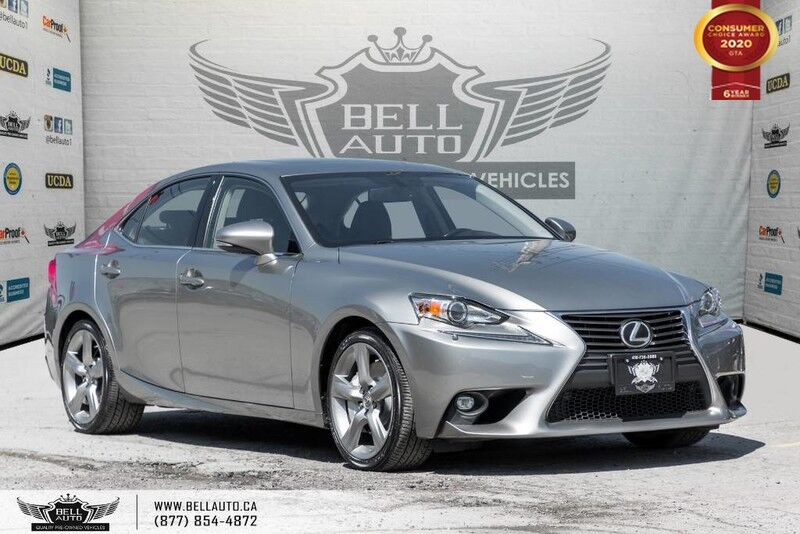 2015 Lexus IS 350 AWD, NO ACCIDENT, BACK-UP CAM, SUNROOF, SENSORS, COOLED SEATS