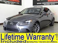 Lexus IS 350 F SPORT AWD BLIND SPOT MONITOR NAVIGATION SUNROOF LEATHER HEATED/COOLED 2015