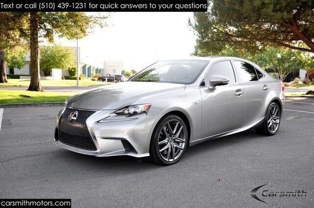 2015 Lexus IS 350 F SPORT LOADED Clean Red Interior Levinson/Blind Spot/CPO  ...