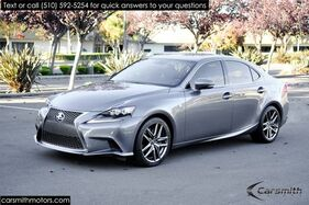 2015_Lexus_IS 350 F SPORT LOADED Clean and only 20K MILES!!!_Mark Levinson/Blind Spot/One Owner w/ Red Interior_ Fremont CA