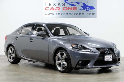 2015 Lexus IS 350 PREMIUM PACKAGE BLIND SPOT MONITORING NAVIGATION SUNROOF LEATHER Carrollton TX