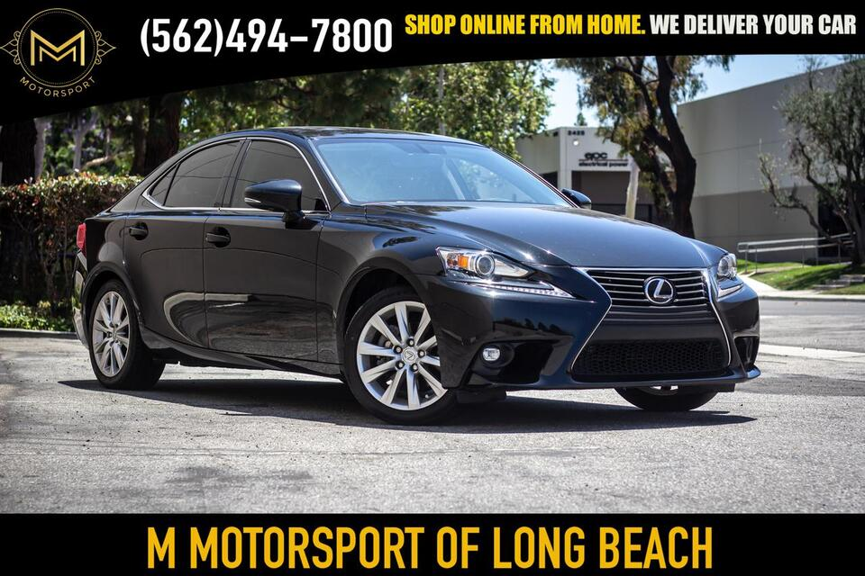 2015_Lexus_IS_IS 250 Sedan 4D_ Long Beach CA