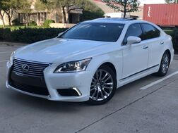 2015_Lexus_LS 460_CRAFTED LINE BLIND SPOT MONITORING NAVIGATION SUNROOF LEATHER SEATS_ Addison TX