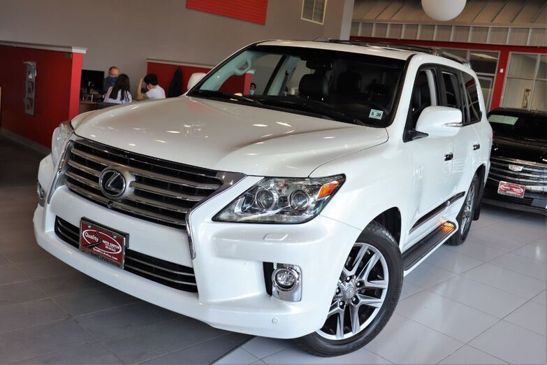 2015 Lexus LX 570 Intuitive Parking Assist Climate Package Sunroof 1 Owner Springfield NJ