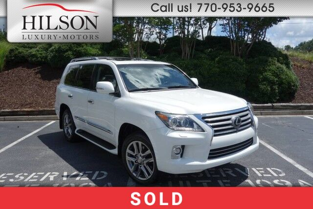 2015 Lexus LX570 w/Luxury Package  Marietta GA