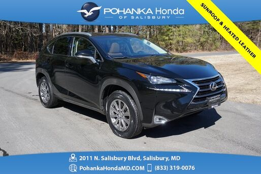 2015_Lexus_NX_200t AWD ** HEATED LEATHER & SUNROOF ** BEST MATCH **_ Salisbury MD