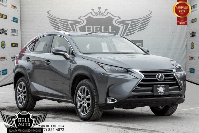2015 Lexus NX 200t AWD, NAVI, BACK-UP CAM, COLLISION WARNING, COOLED SEATS, SUNROOF
