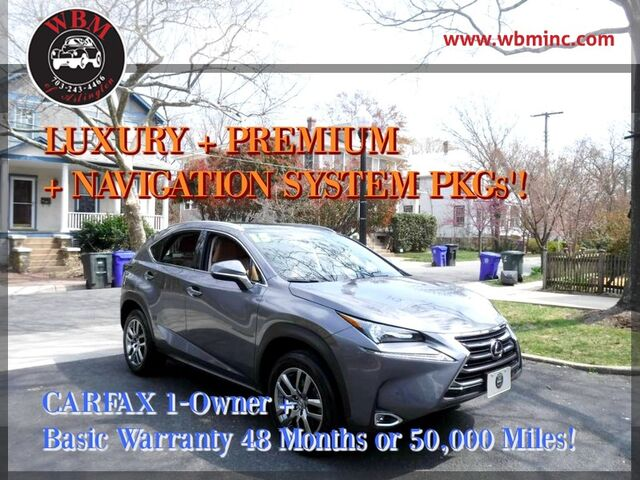 2015 Lexus NX 200t w/ Luxury Package Arlington VA