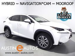 2015_Lexus_NX 300h AWD_*NAVIGATION, BLIND SPOT ALERT, BACKUP-CAMERA, MOONROOF, CLIMATE SEATS, HEATED STEERING WHEEL, POWER LIFTGATE, BLUETOOTH_ Round Rock TX