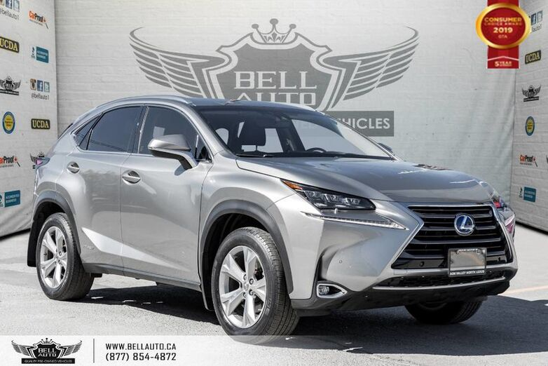 2015 Lexus NX 300h Executive, AWD, NO ACCIDENT, NAVI, BACK-UP CAM, BLINDSPOT Toronto ON