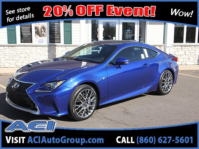 2015 Lexus RC 350  East Windsor CT