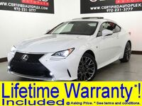 Lexus RC 350 F SPORT AWD Sunroof Navigation Blind Spot Assist Rear Camera Park Assist H 2015