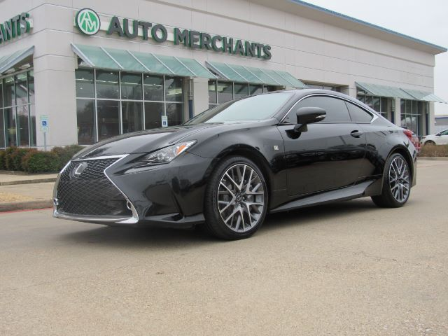 2015 Lexus RC 350 F SPORT  LEATHER SEATS, SUN ROOF, HEATED/COOLED FRONT SEATS, NAVIGATION SYSTEM Plano TX