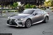 2015 Lexus RC 350 F SPORT LOADED Clean and CPO to 100K Mark Levinson/Blind Spot/One Owner/Moonroof/Park Assist