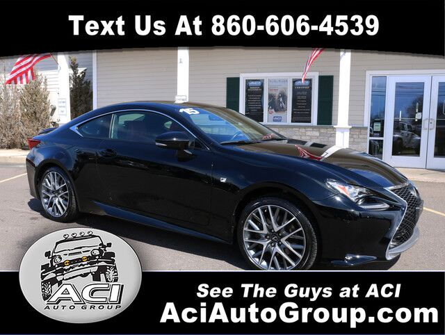 2015 Lexus RC 350 F-Sport East Windsor CT
