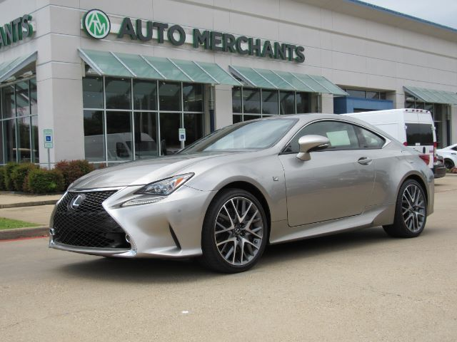 2015 Lexus RC 350 F Sport NAV, HTD/COOLED STS, BACKUP CAM, SUNROOF, BLIND SPOT, BLUETOOTH, PUSH BUTTON Plano TX