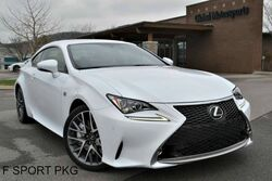 Lexus RC 350 F Sport Pkg/Blind Spot Monitor/Navigation/Rear View Cam/Heated&Cooled Seats/One Owner!/Pwr Sunroof/Push Button Start/Bluetooth Connection 2015