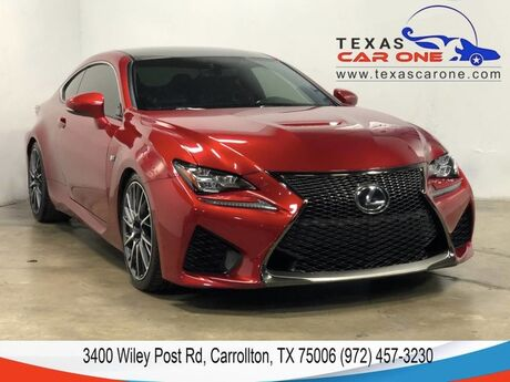 2015 Lexus RC F PERFORMANCE PKG MARK LEVINSON AUDIO PKG NAVIGATION BLIND SPOT MO Carrollton TX