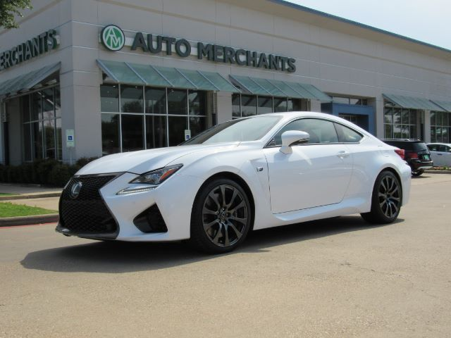 2015 Lexus RC F RWD NAV, HTD/COOLED SEATS, BACKUP CAM, BLIND SPOT, ADAPT CRUISE, COLLISION WARN, SUNROOF Plano TX