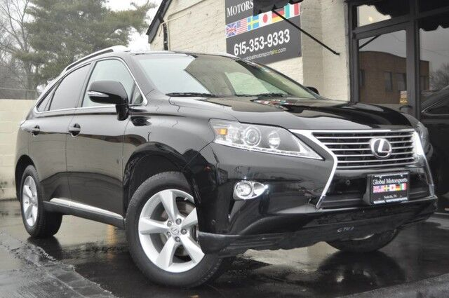 2015 Lexus RX 350 AWD Navigation Package w/ Backup Camera/Premium Package w/ Blind Spot Monitor/Comfort Package w/ Heated & Ventilated Front Seats/Wood & Leather Trimmed Steering Wheel Nashville TN