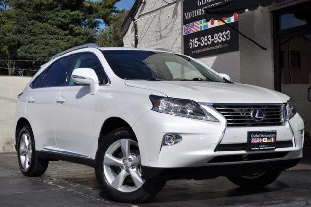 2015 Lexus RX 350 AWD/Navigation Package w/ Backup Camera/Premium Package w/ Blind Spot Monitors/Intuitive Park Assist/Comfort Package w/ Heated & Ventilated Front Seats, Rain Sensing Wipers, Xenon Headlamps, Power Liftgate Nashville TN