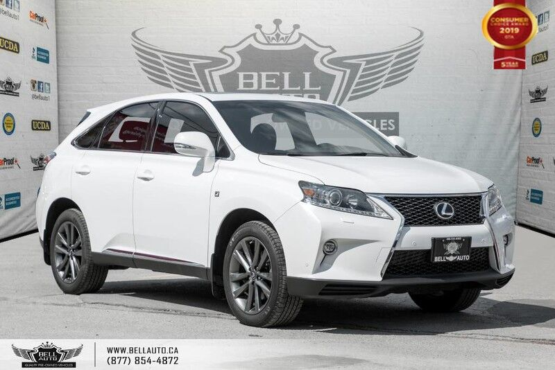 2015 Lexus RX 350 F Sport, AWD, NO ACCIDENT, NAVI, BACK-UP CAM, SUNROOF, SOLD