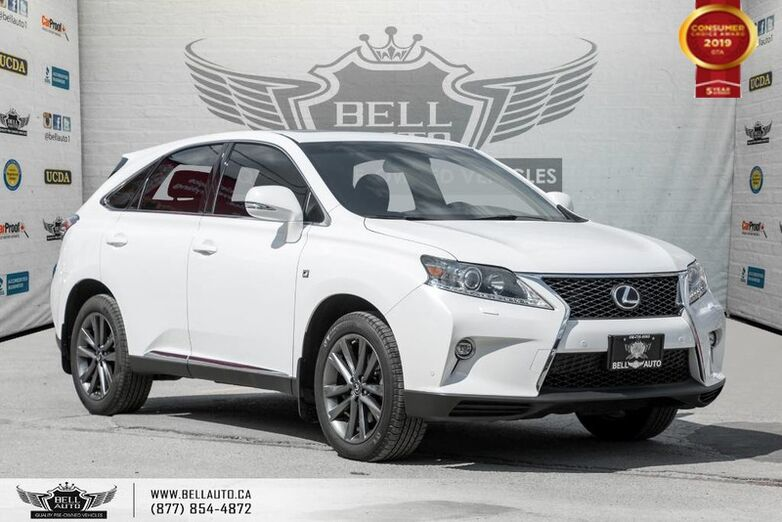 2015 Lexus RX 350 F Sport, AWD, NO ACCIDENT, NAVI, BACK-UP CAM, SUNROOF Toronto ON