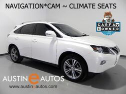 2015_Lexus_RX 350_*NAVIGATION, BLIND SPOT ALERT, BACKUP-CAMERA, CLIMATE SEATS, LEATHER, MOONROOF, BLUETOOTH AUDIO_ Round Rock TX