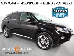 2015_Lexus_RX 350_*NAVIGATION, BLIND SPOT ALERT, BACKUP-CAMERA, CLIMATE SEATS, LEATHER, MOONROOF, POWER LIFTGATE, BLUETOOTH PHONE & AUDIO_ Round Rock TX