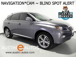 2015_Lexus_RX 350_*NAVIGATION, BLIND SPOT ALERT, BACKUP-CAMERA, MOONROOF, LEATHER, CLIMATE SEATS, BLUETOOTH PHONE & AUDIO_ Round Rock TX