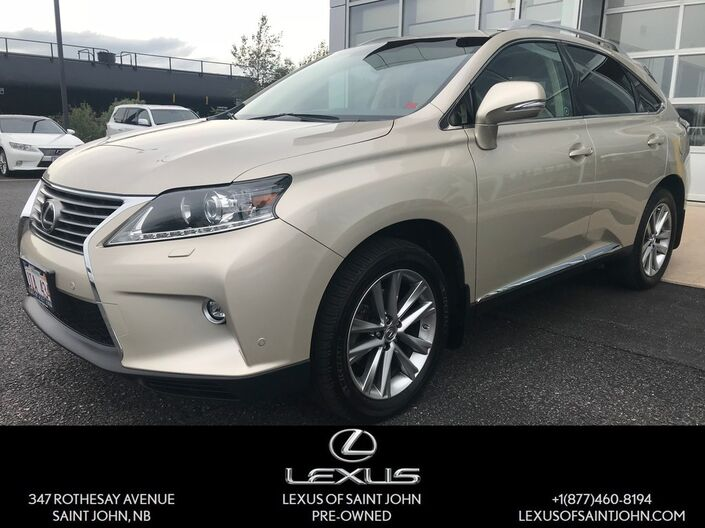 2015 Lexus RX 350 TOURING PACKAGE Saint John NB