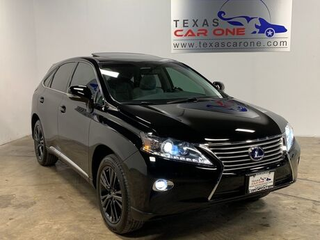 2015 Lexus RX 450h PREMIUM PKG COMFORT PKG BLIND SPOT MONITORING INTUITIVE PARKING ASSIST NAVIGATION Addison TX