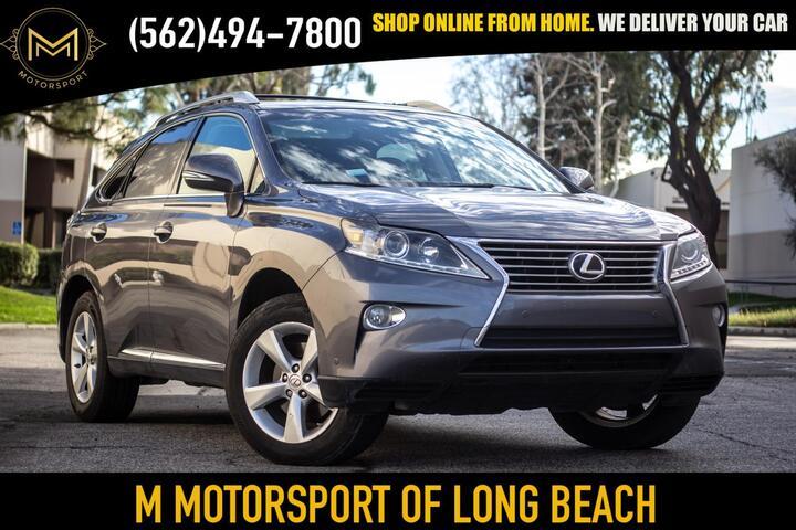 2015 Lexus RX RX 350 Sport Utility 4D Long Beach CA